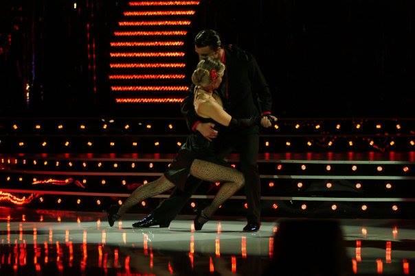 Мадлен Алгафари & Александър Вачер - Аржентинско Танго - Dancing Stars 2, bTV